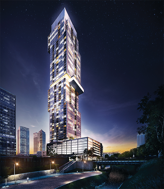 The Independent Tower aims to capture Austin, Texas' creative energy in one of the country's tallest towers.